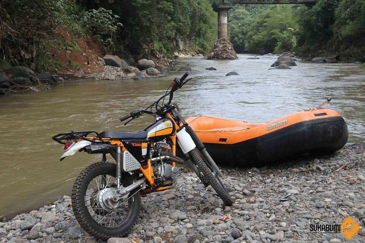 Gas poll with rafting Honda T200 hand made by rap8285