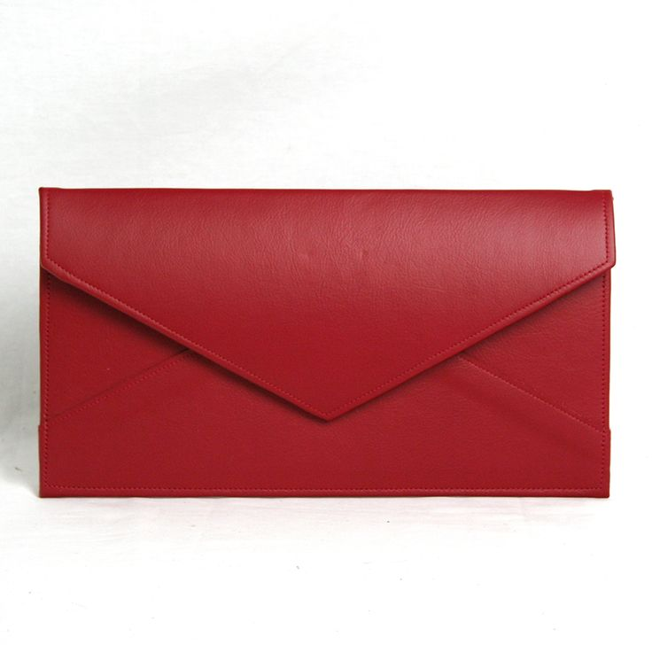 Red Envelope Clutch | Amy Steele Bags