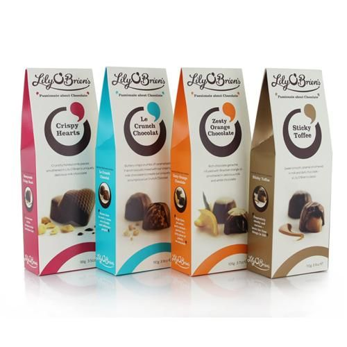 Selection of Chocolate Pouches