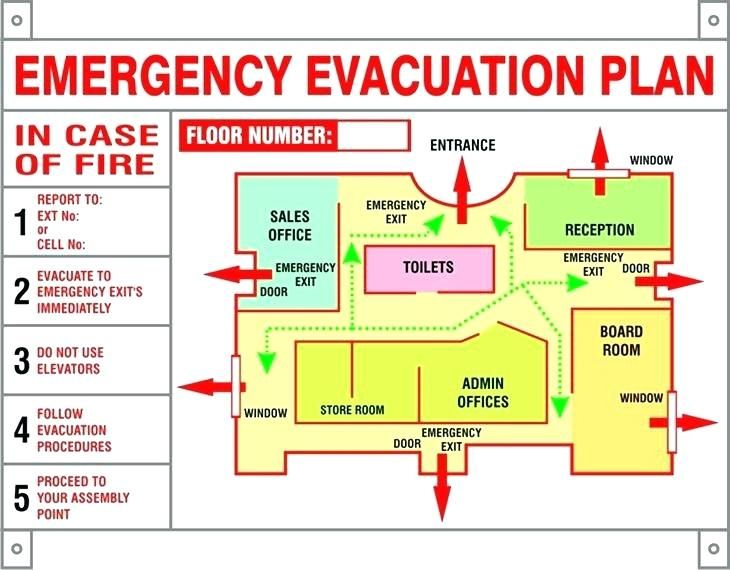 Image Result For Hotel Emergency Evacuation Plan Template