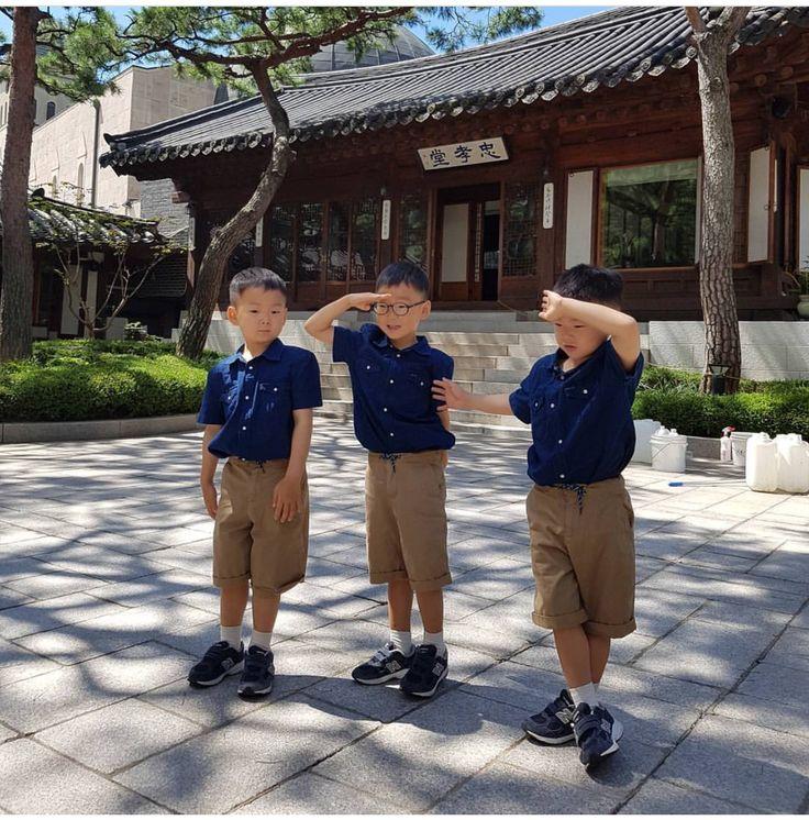 #Cr.IgSongilkook #Daehan Minguk ManSe #LalitaMuangman #Song's Cute Triplets