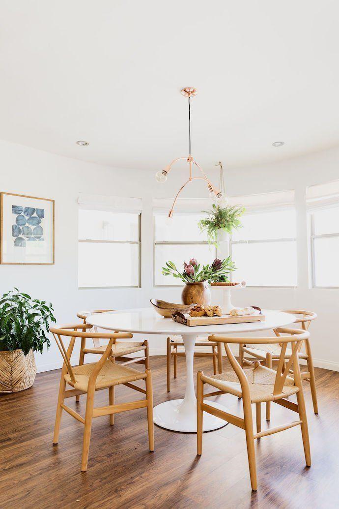 Modern Meets Boho In Paige Rangel S Phoenix Az Home Dining Room