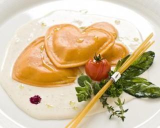 Ravioles de crevettes et émulsion coco spécial Saint-Valentin : Savoureuse et équilibrée   Fourchette & Bikini