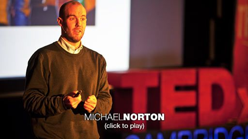Who say's you can't buy happiness? Checkout Michael Norton: How to buy happiness | Video on TED.com