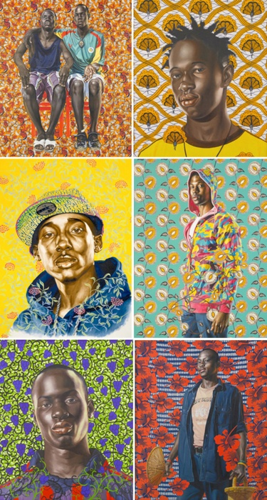 www.cewax aime Men's fashion : style ethnique, tribal, afro tendance Vêtement homme de style ethno, tribal - Kehinde Wiley Kehinde Wiley - Contemporary Artist - Figurative & Rococo Painting