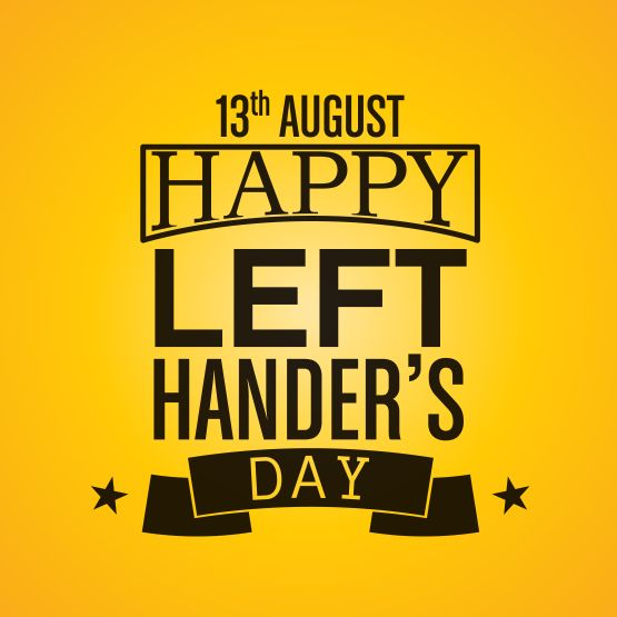 Happy International Left-Handers Day! Here are a few fun facts about lefties!