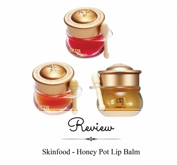 Skinfood, Honey Pot Lip Balm