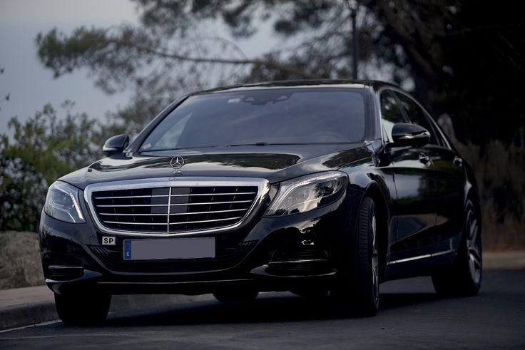 Transfers privados en Barcelona con el nuevo Mercedes Clase S Premium.