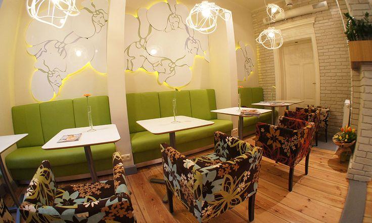 Aranżacja wnętrza restauracji Friendly Food w Poznaniu