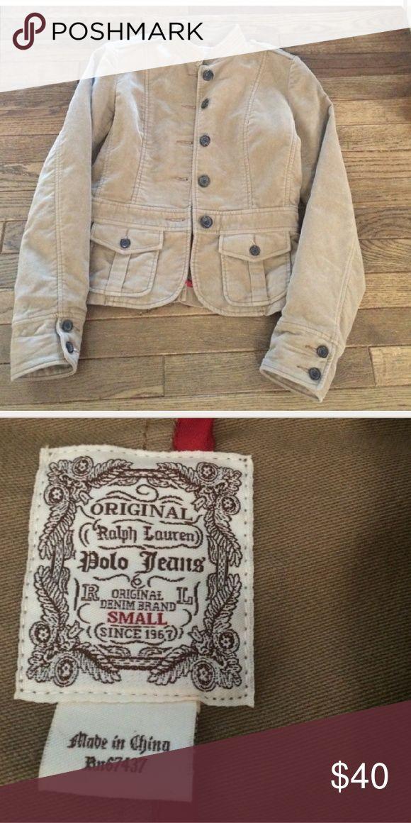 Vintage Ralph Lauren Polo Jacket Tan Size S Good condition. Ralph Lauren Polo Jackets & Coats Blazers
