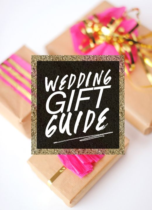 Get in-the-know with this Wedding Gift Etiquette Guide!