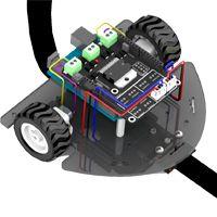 Proyectos de robótica ~ EP - Electro Pc   Robótica Robot seguidor de linea.