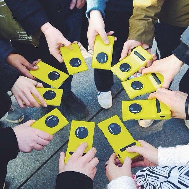 A beautiful circle of Lumia 1020s