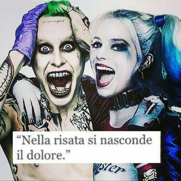 Frasi Frasitumblr Frasibelle Tumblr Joker Jokerandharley Jokerharley Joker Jaredleto Harleyquinn Hahah Citazioni Citazioni Instagram Citazioni Rap