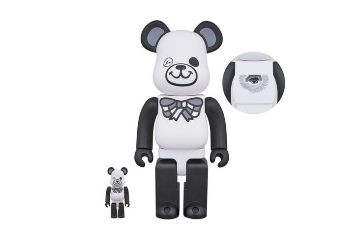 fragment design to Roll Out FREEMASONRY BE@RBRICKs for Medicom Toy