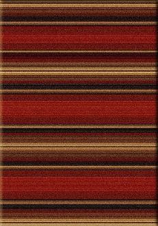 Santa Fe Stripe Area Rug