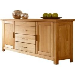 Dreamer eXpress Dresser Dreamer | gray | Dimensions (cm): W: 140 H: 80 D: 42 Chests of Drawers & Sideboards> Kommo