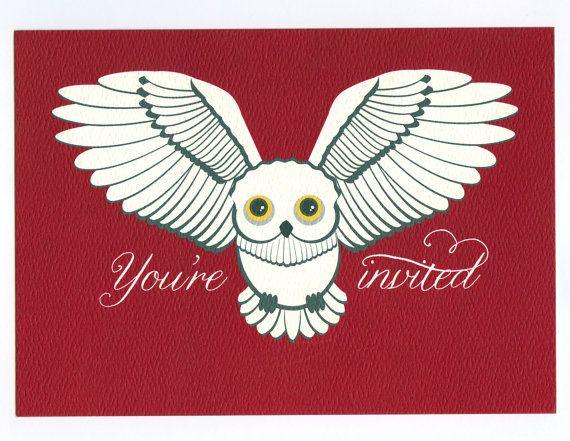 Snowy Owl 10 by brightsideprints on Etsy