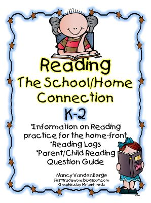 Worksheet School Home Connection Worksheets 1000 images about homeschool connection on pinterest parents reading log parent letter and school home questions for k