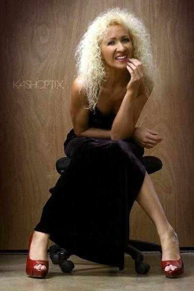 Glamour model talent