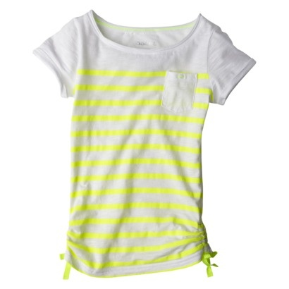 Girls' Tee from Target (neon stripes). I don't care if it was made for 9 year olds. If I can fit into it, I would wear it.