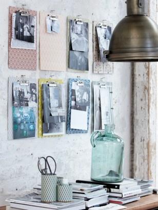 Meine Schreibtisch wird Stylish - neue Deko fürs Büro http://www.livingandfriends.de