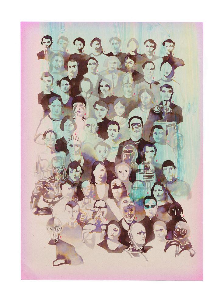 Tina Berning print , Mensch, Übermensch I Fine art