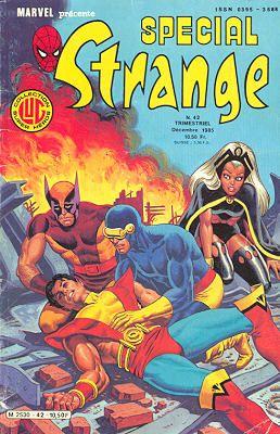 Couverture de Spécial Strange -42- Spécial Strange 1985