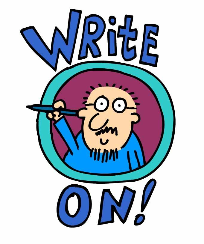 Inspiring cartoons for writers from writers.