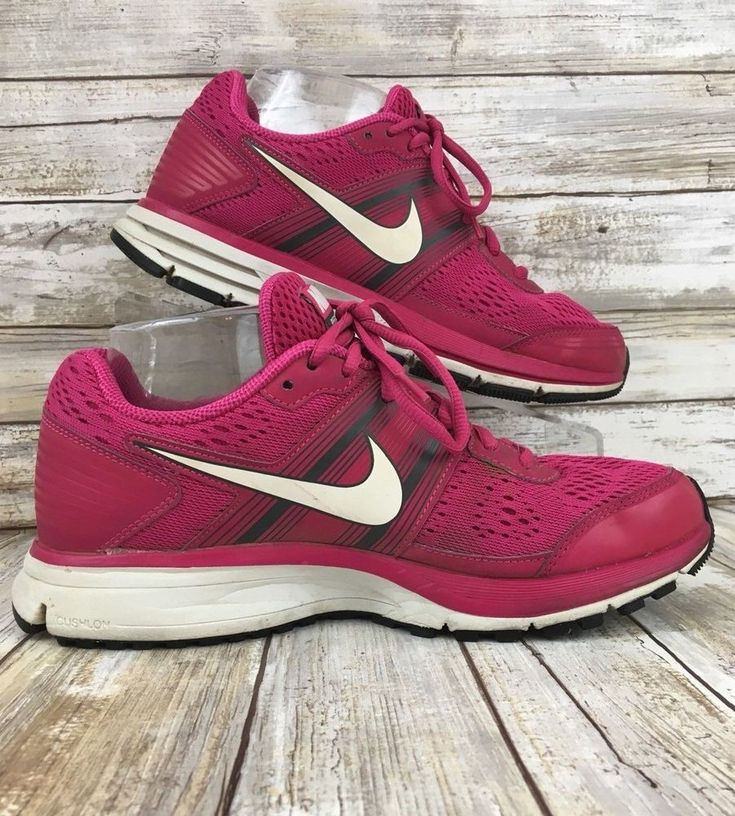 Nike Pegasus 29 Fitsole Womens 7.5M Pink Lace Up Running Athletic Sneaker Shoes. #Nike #Running