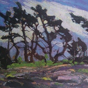 Pine Island by Tom Thomson.