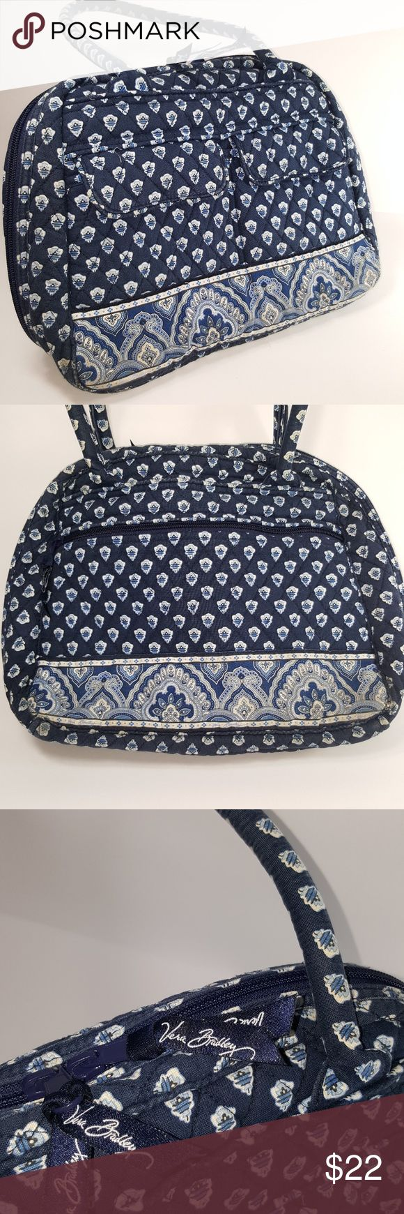 Vera Bradley blue and white tote bag Vera Bradley blue and white tote bag Vera Bradley Bags Travel Bags