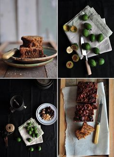 Feijoa, Date & Ginger Loaf - am expecting a glut of feijoas shortly, must keep this in mind!