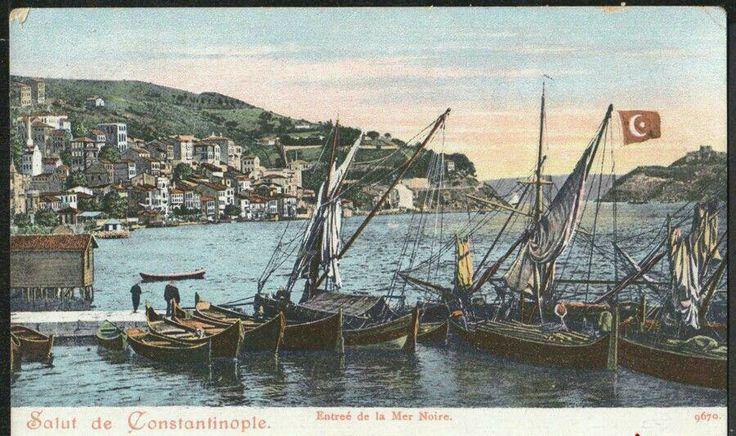 Entreé la Mer Noire