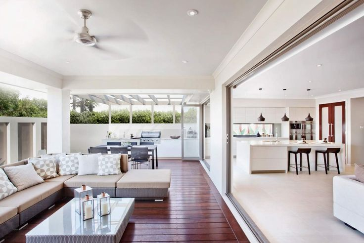 Beautiful Alfresco space - The Oasis - by McDonald Jones Homes - See the display home at North Lakes in Brisbane.  #alfresco #outdoorliving #summer #queensland #brisbane #mcdonaldjones