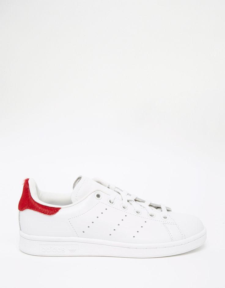 Image 2 - Adidas Originals- Stan Smith Red Pony - Baskets à bordures rouges