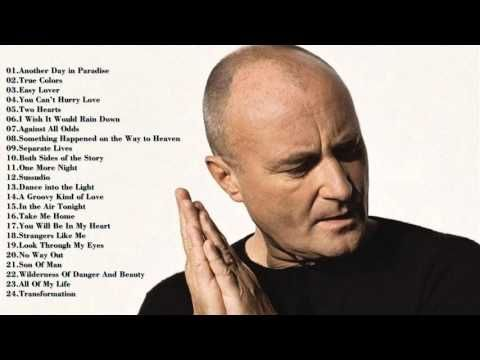 Phil Collins Greatest Hits ||| Best Songs Of Phil Collins HD 2016