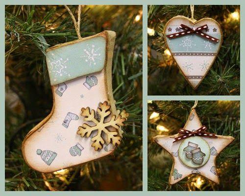 Marjoleine's blog: Kerstdecoraties maken tijdens aanschuifworkshop van 19 en 20 december 2014. In dit blogbericht zie je allerlei voorbeelden.