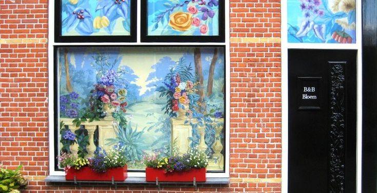 De entree  Bed en Broodje Bloem van Bleyswijckstraat 14 Delft