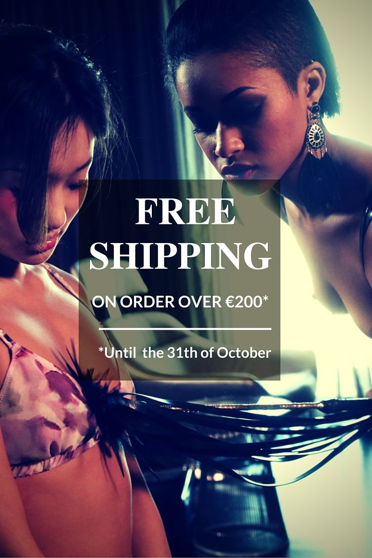 #Free #Shipping on order over €200* Until the 31th of #October Join it!