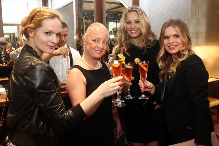 Harper's Bazaar Prague Fashion Night in the Tiffany & Co boutique with Petra Nemcova
