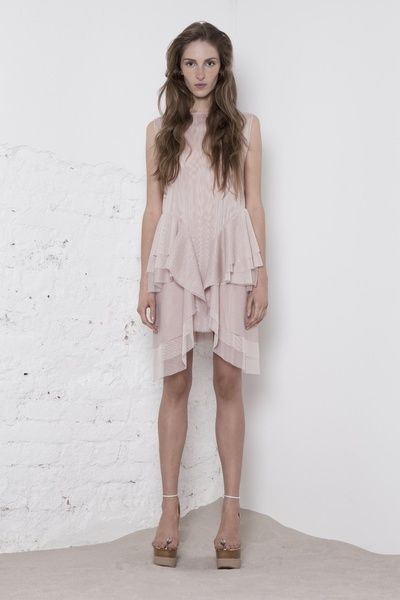 www.store.odivi.cz ODIVI circle dress  nude SS14