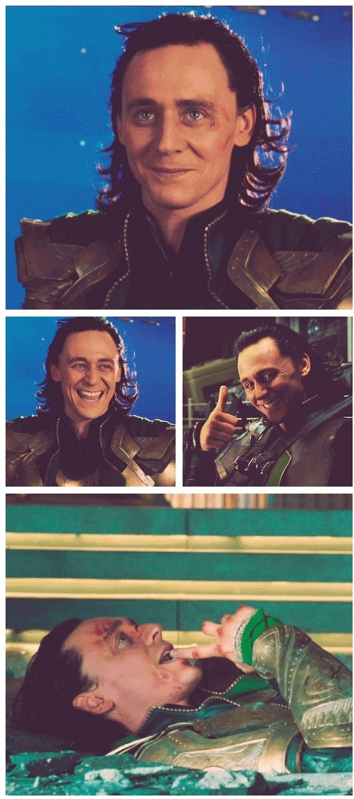 Loki/ Tom Hiddleston <3