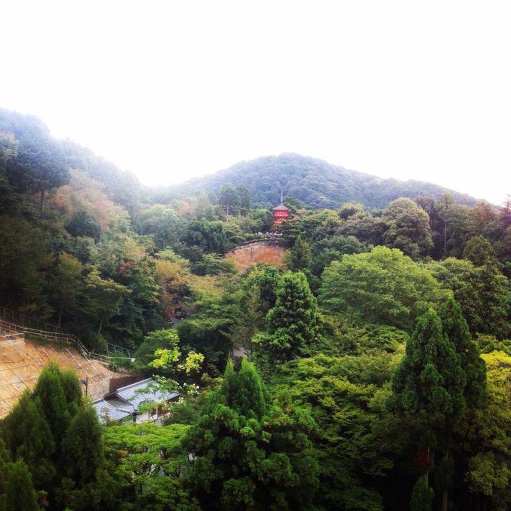 Pagoda del Templo de Kiyomizudera en Kyoto