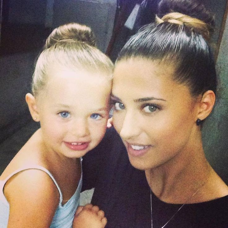 Antonia Iacobescu and her daughter