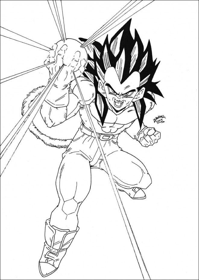 Dragon Ball Z Coloriage