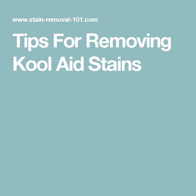 Kool Aid Nail Polish Stains: 1000+ Ideas About Kool Aid On Pinterest
