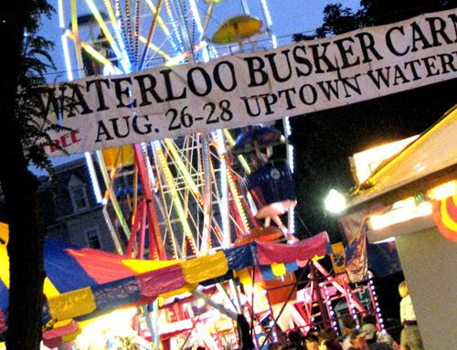 Busker's Carnival midway!