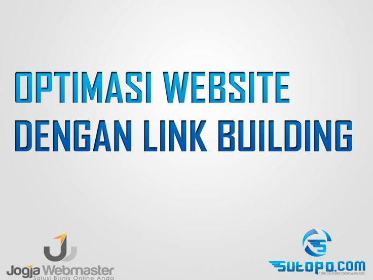 Belajar SEO - optimasi link buidling website wordpress blogspot