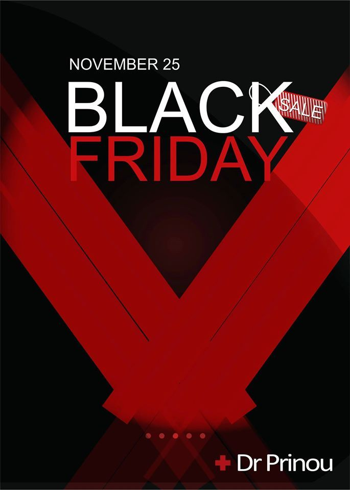 """Black Friday"" και στην ομορφιά. http://drprinou.gr/ Call us free on : 801 801 1100"